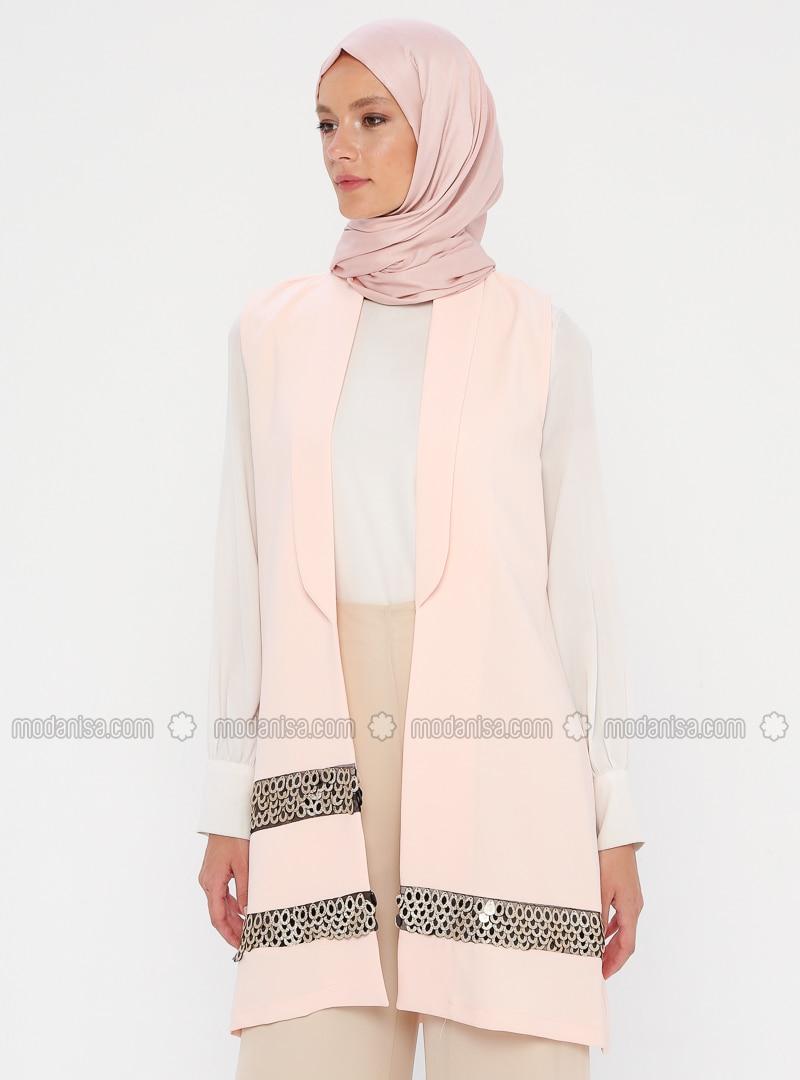 Powder - Unlined - Shawl Collar - Vest