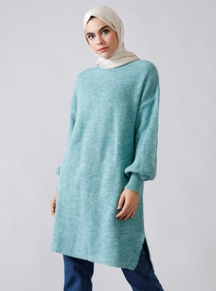 Mint - Polo neck - Acrylic -  - Jumper