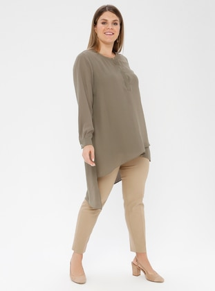 Camel - Plus Size Pants