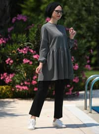 Füme - Astarsız Kumaş - Pamuk - Takım Elbise