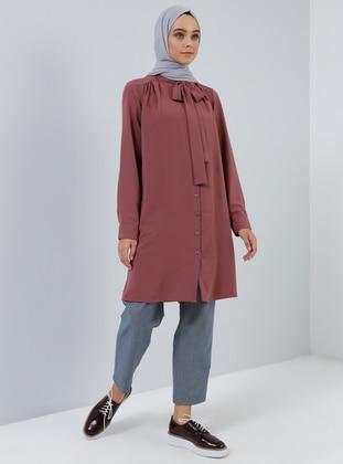 Plum - Point Collar - Tunic