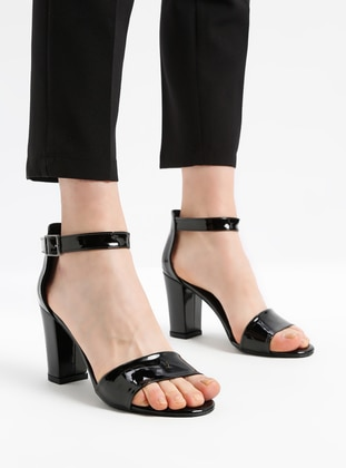 Black - Sandal - High Heel - Shoes