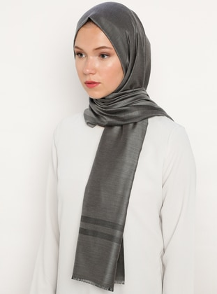 Smoke - Plain - Shawl