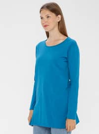 Petrol - Crew neck -  - Tunic