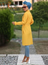 Mustard - Point Collar - Tunic