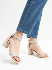 Nude - High Heel - Shoes