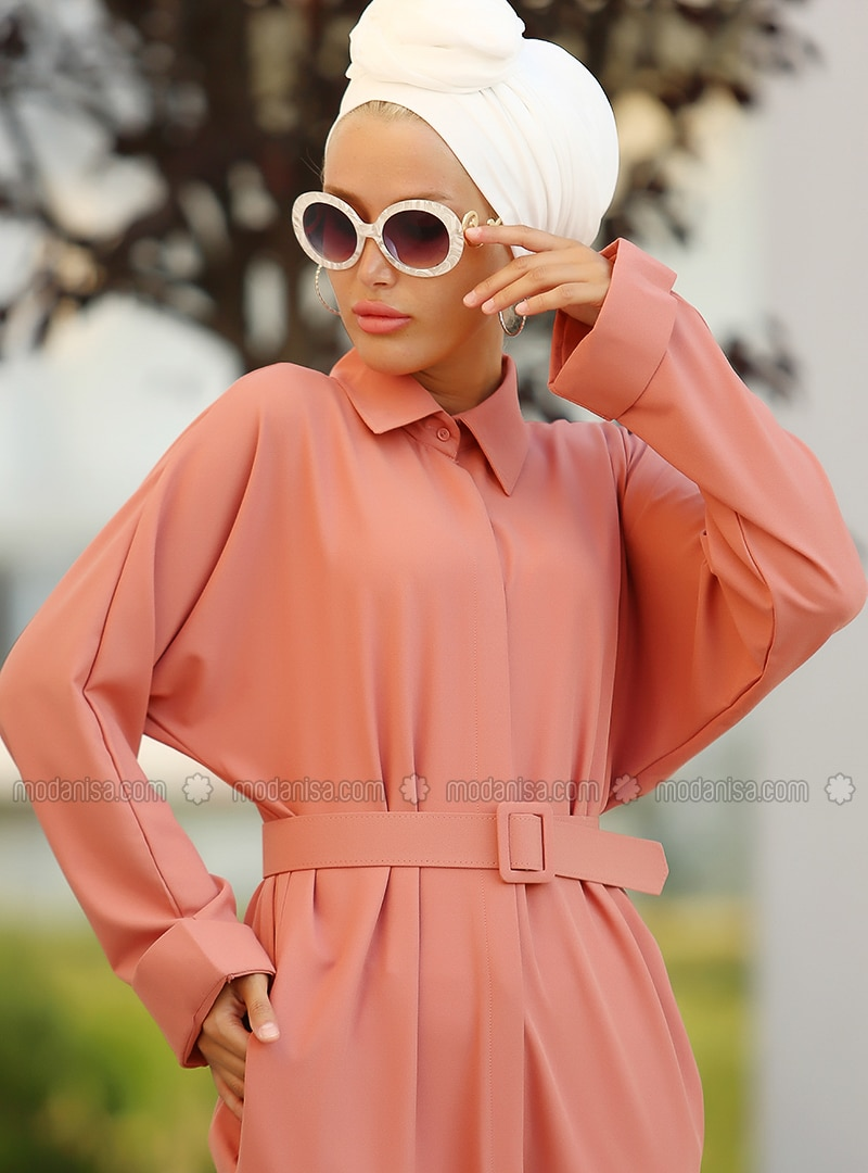 Dusty Rose - Point Collar - Tunic
