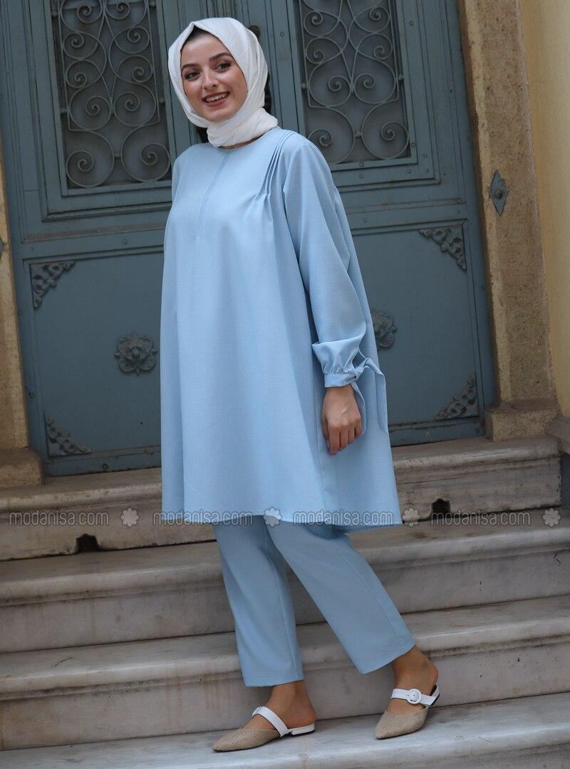 Blue - Unlined - Suit