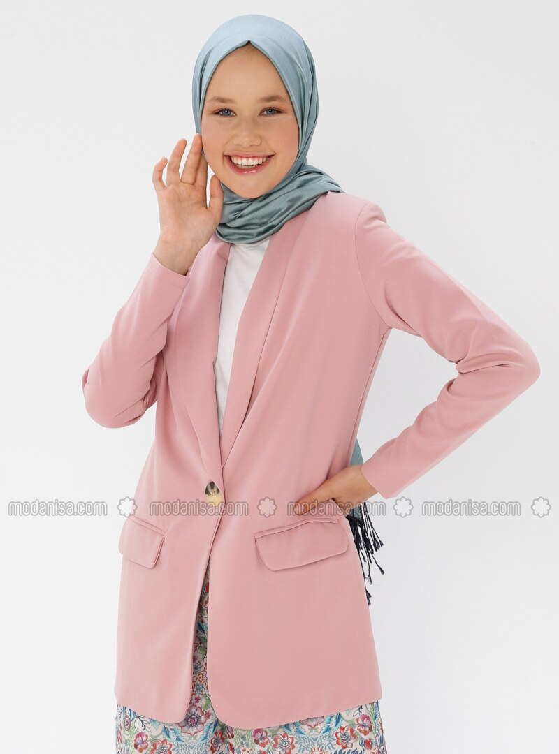 Powder - Unlined - Shawl Collar - Jacket