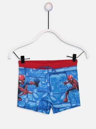 Blue - Boys` Swimsuit - LC WAIKIKI