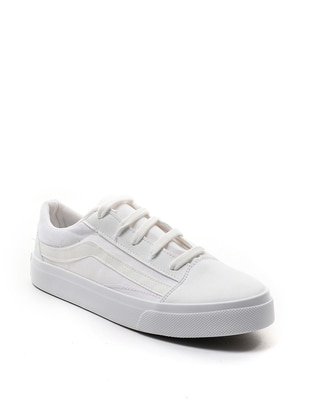 White - Casual - Sports Shoes