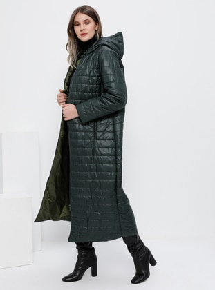 Emerald - Fully Lined - Plus Size Overcoat - Alia