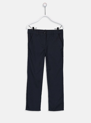 Navy Blue - Girls` Pants - LC WAIKIKI