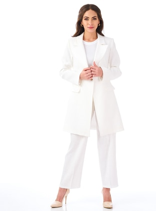 Ecru - Fully Lined - Suit