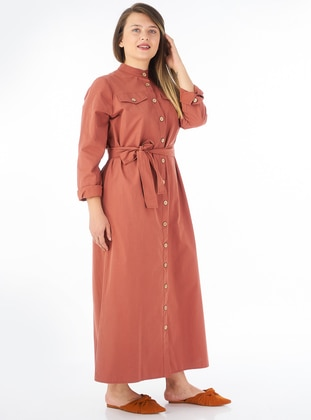Terra Cotta - Unlined - Dress