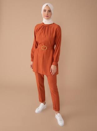 Terra Cotta - Viscose - Suit