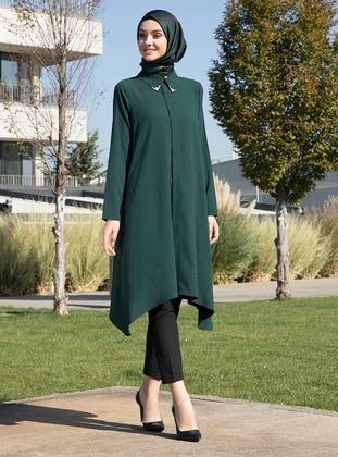 Emerald - Point Collar - Tunic
