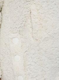 White - Ecru - Unlined - Plus Size Coat