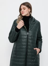 Emerald - Fully Lined - Plus Size Overcoat