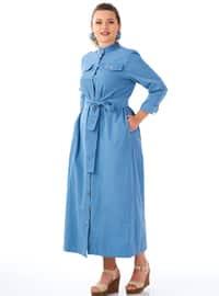 Indigo - Unlined - Dress