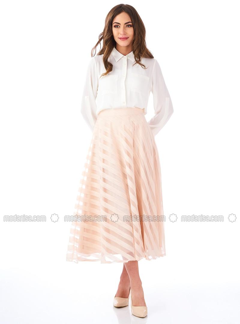 Powder - Stripe - Fully Lined - Skirt