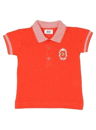 Polo - Red - Girls` T-Shirt