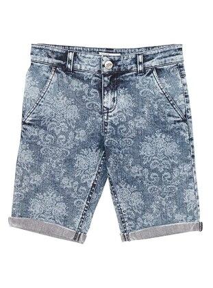 Multi - Indigo - Boys` Shorts