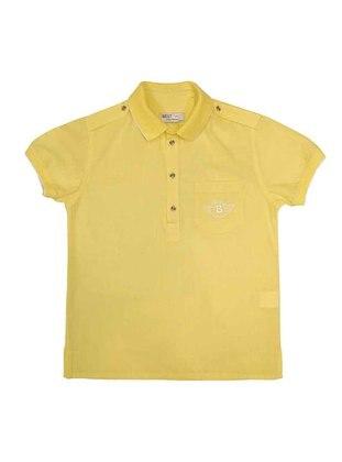 Polo - Yellow - Boys` Shirt