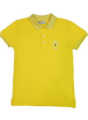 Polo - Yellow - Boys` T-Shirt