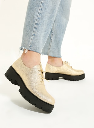 Gold - Casual - Shoes