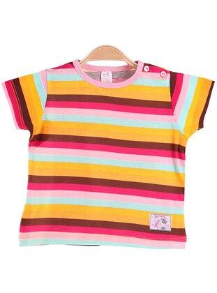 Stripe - Multi - baby t-shirts