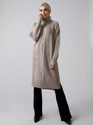 Mink - Polo neck - Acrylic -  - Jumper - Refka