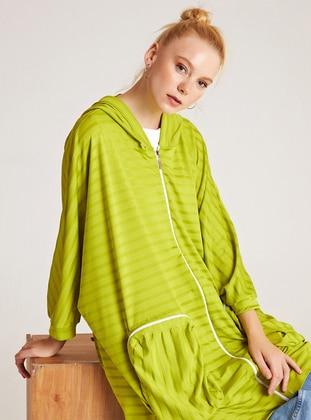 Stripe - Green - Sweat-shirt