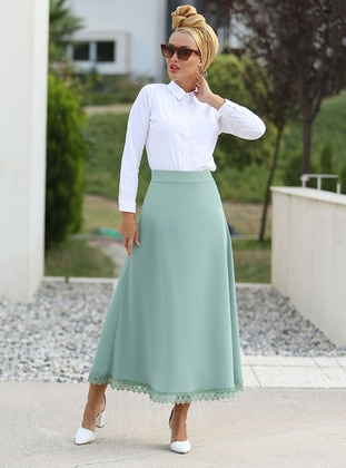 Mint - Unlined - Skirt