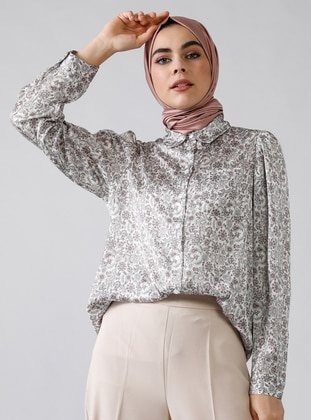 Pink - Shawl - Point Collar - Tunic