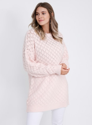 Powder - Crew neck - - Plus Size Jumper