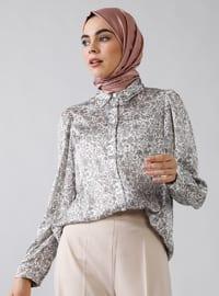 Pink - Shawl - Point Collar - Tunic