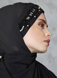 Black - Litho - Shawl