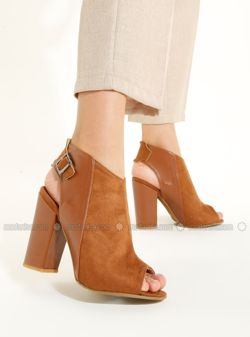 Tan - High Heel - Heels