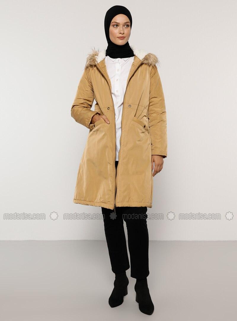Camel - Unlined - Coat