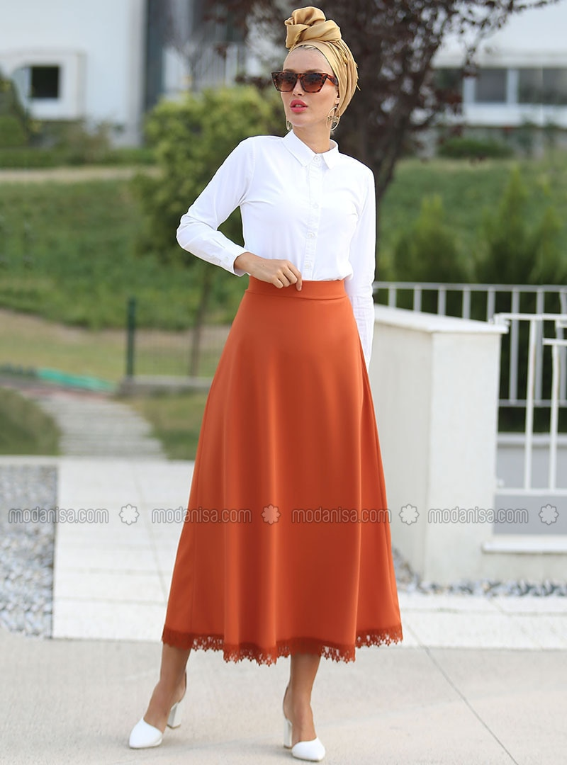 Terra Cotta - Unlined - Skirt