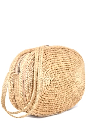 Straw - Beige - Shoulder Bags