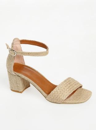 Camel - High Heel - Heels