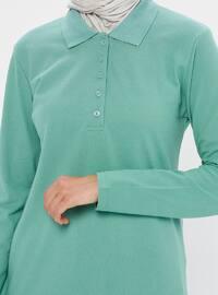 Mint - Point Collar -  - Tunic