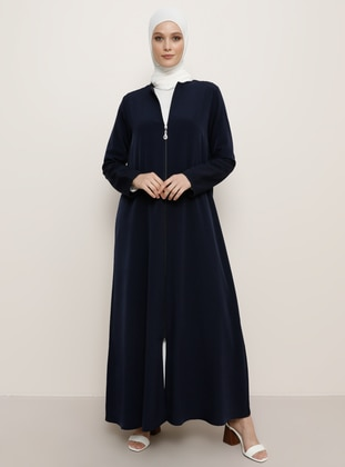Navy Blue - Evening Abaya - Refka