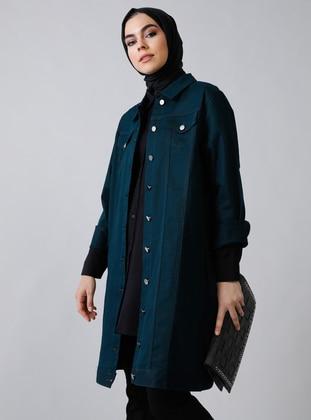 Emerald - Unlined - Point Collar -  - Jacket - Refka