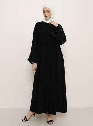 Black - Evening Abaya - Refka