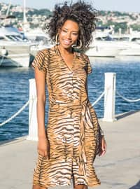 Leopard - Loungewear Dresses