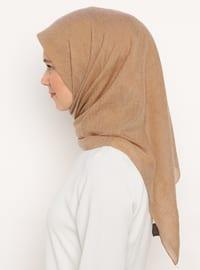 Camel - Plain - Scarf
