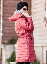 Red - Fully Lined - Coat